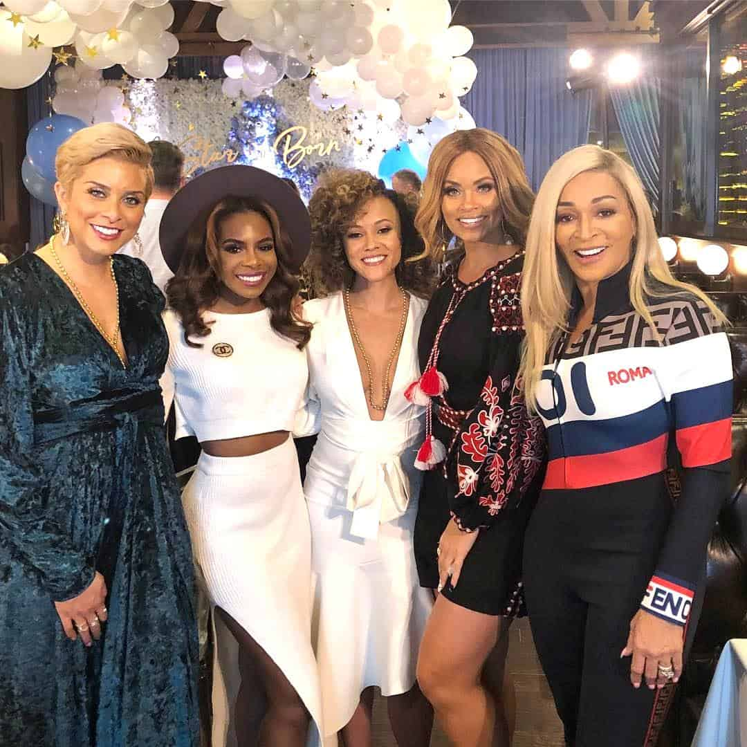 Robyn Dixon Candiace Dillard Ashley Darby Gizelle Bryant and Karen Huger