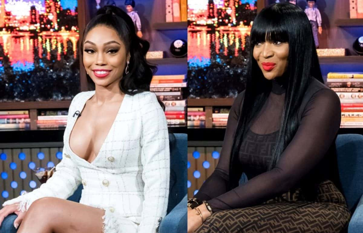 RHOA Shamari Devoe and Marlo Hampton Twitter Feud