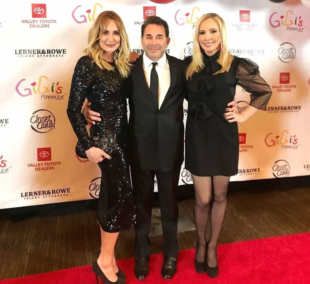 Shannon Beador Taylor Armstrong and Paul Nassif