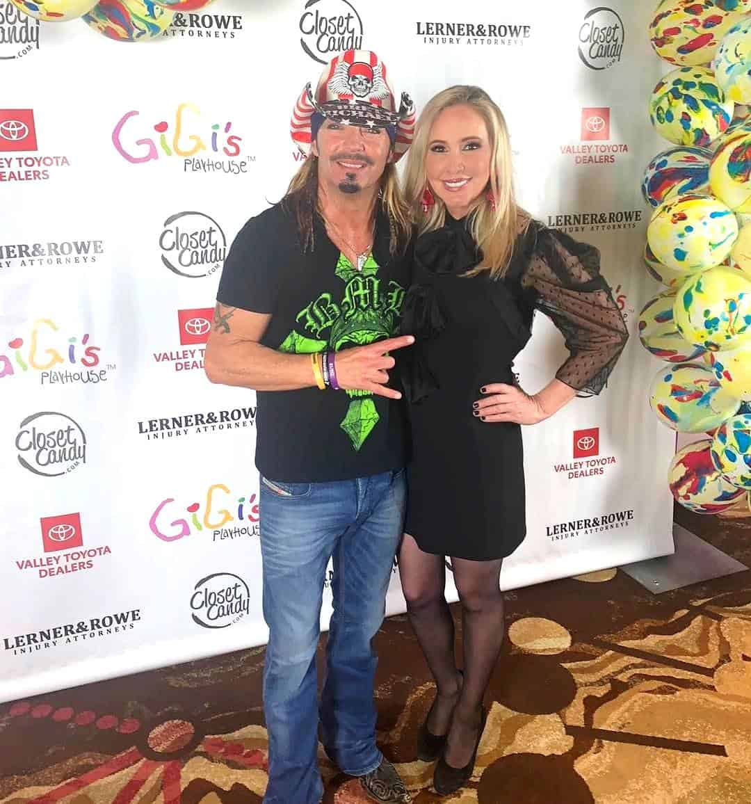 Shannon Beador and Bret Michaels