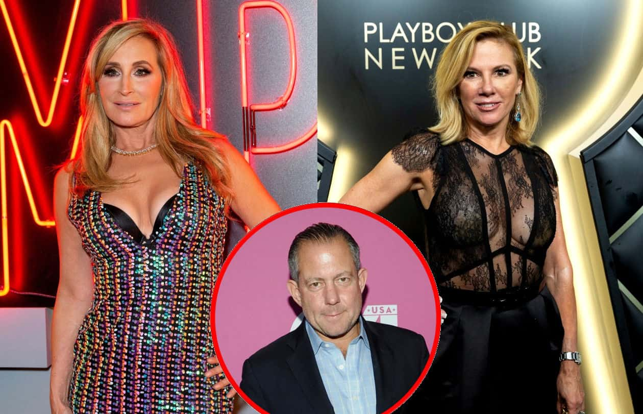 "RHONY's Sonja Morgan ""Not Happy"" to See Ramona Singer and Harry Dubin Kiss"