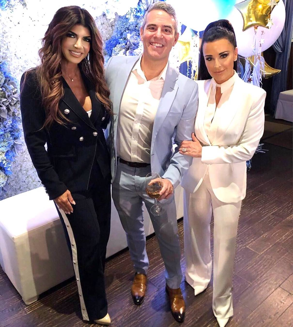 PHOTOS: Andy Cohen Celebrates Baby Shower with over 30 Housewives Teresa Giudice and Kyle Richards