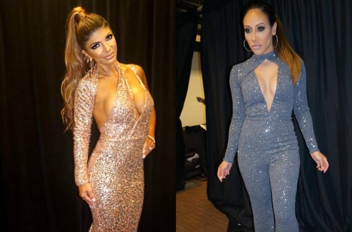 Did Teresa Giudice and Melissa Gorga Stage a Fake Fight During the RHONJ Season 9 Reunion Taping? Plus See Cast Reunion PHOTOS!