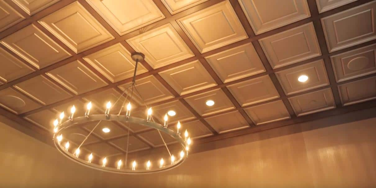 Terry DuBrow Man Cave Ceiling