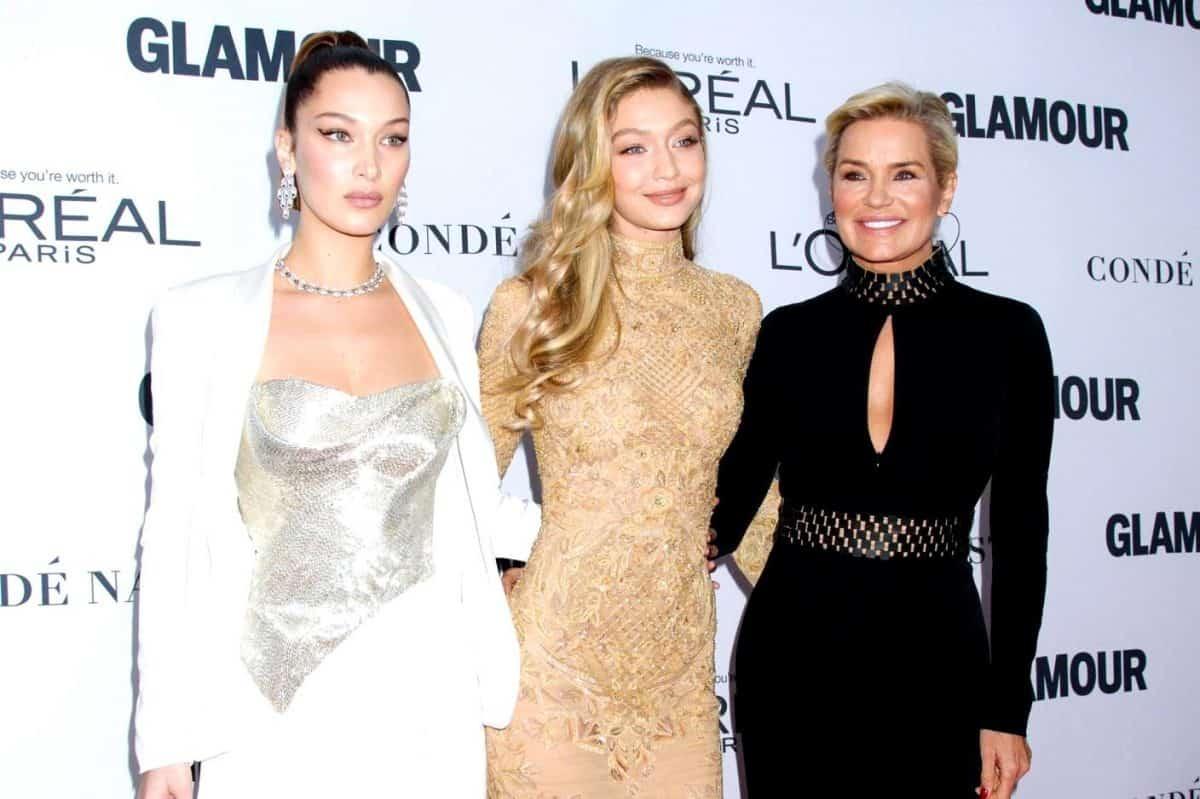 RHOBH's Yolanda Hadid Says Bella and Gigi Hadid Never Used Botox or Fillers