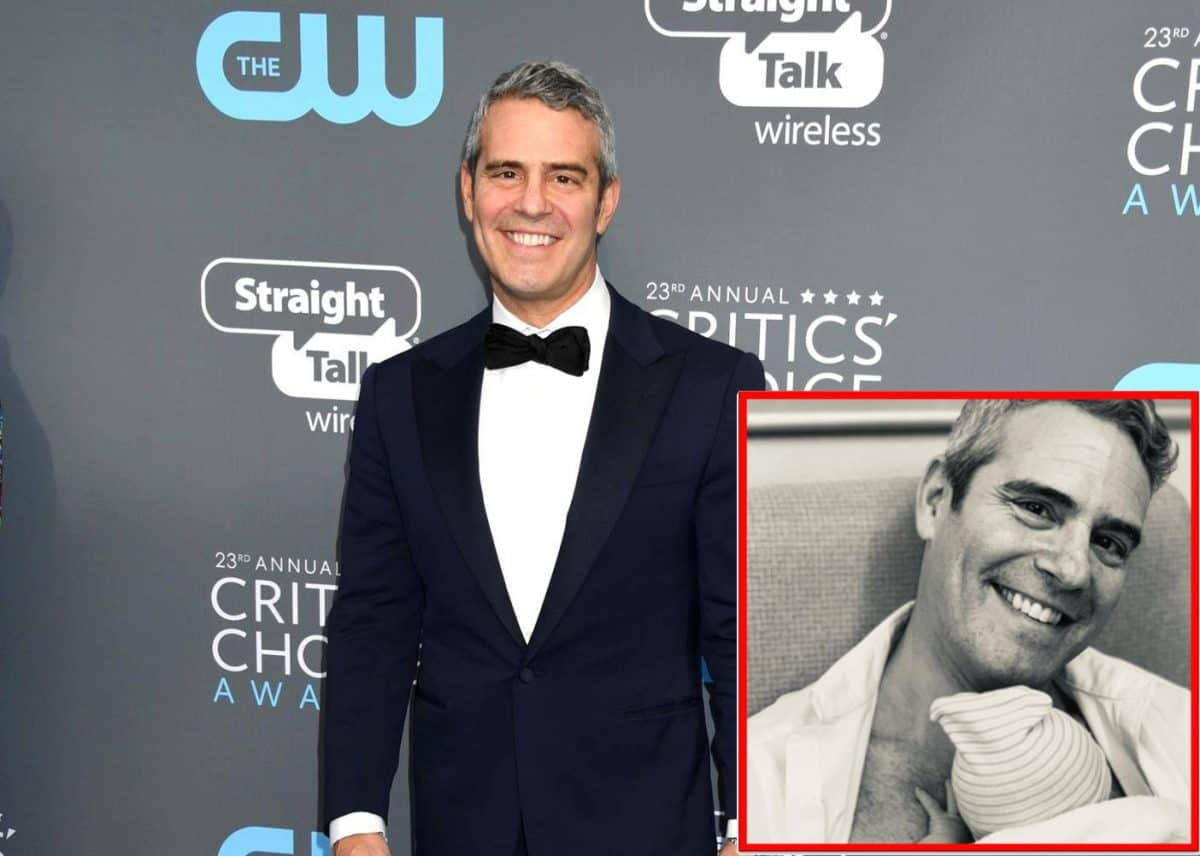 Bravo's Andy Cohen Welcomes Baby Boy