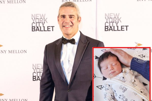 See the First Photo of Andy Cohen's Son Benjamin