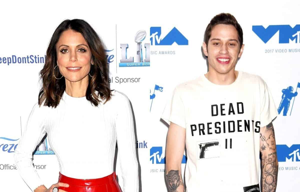 RHONY's Bethenny Frankel Shares X-Rated Tweet About Pete Davidson