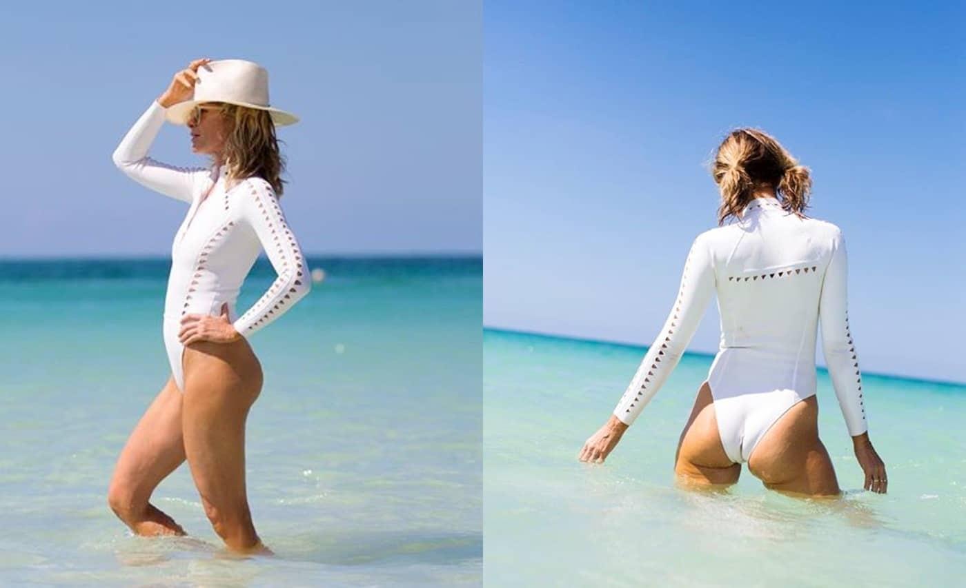 Carole Radziwill sexy swimsuit photos
