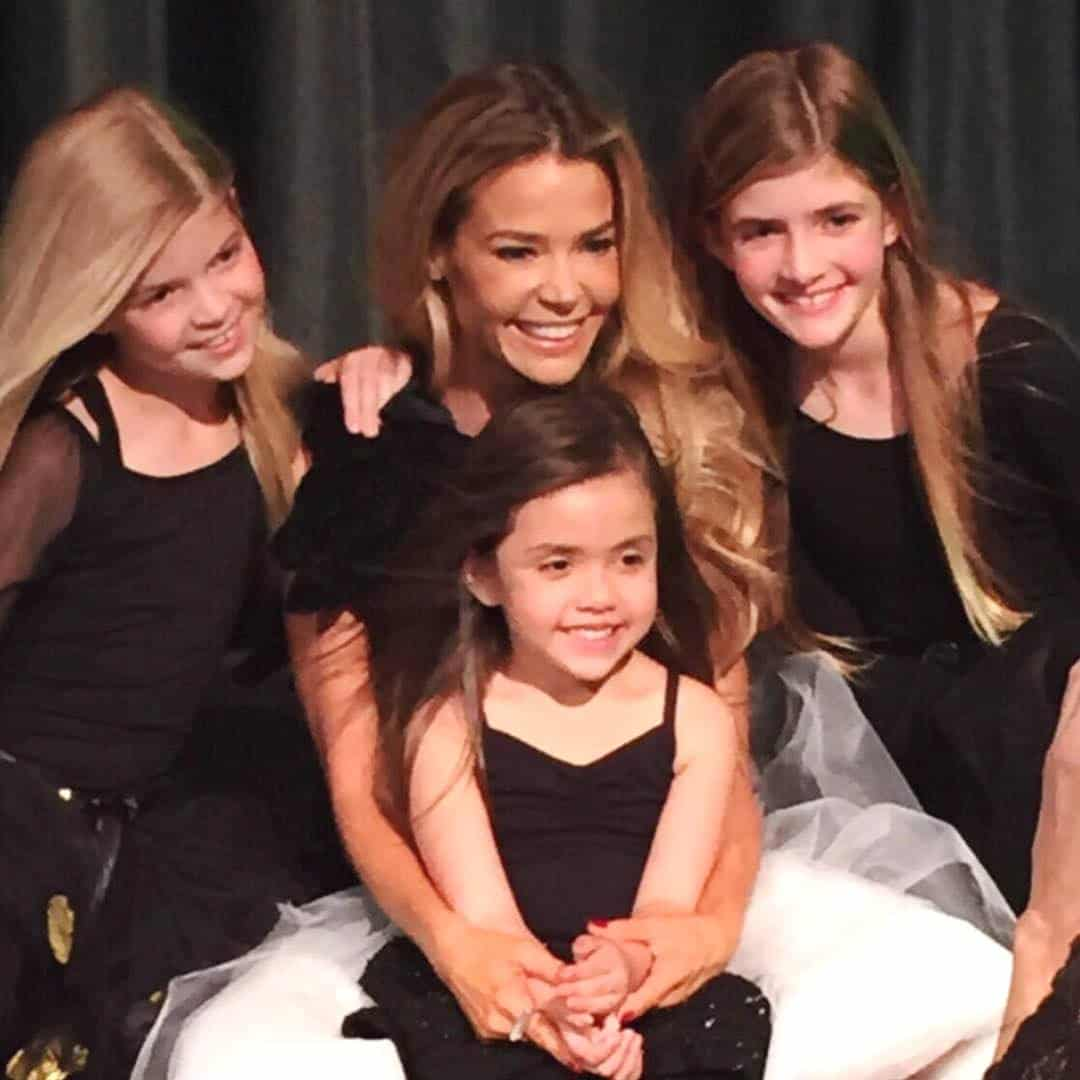 Denise Richards and Daughters Eloise