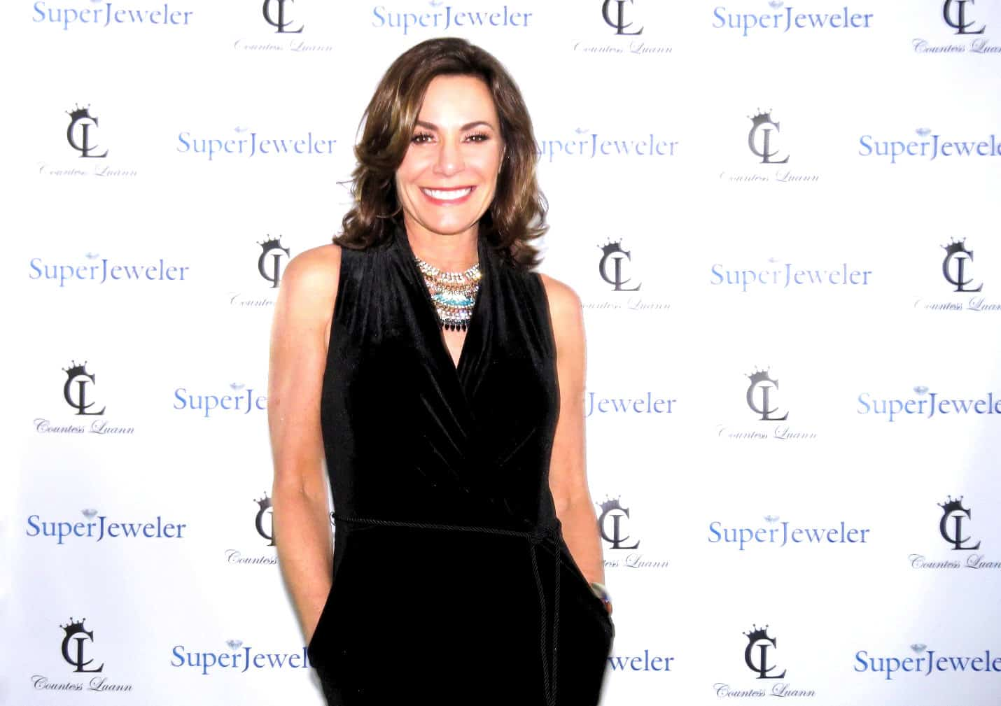 LuAnn de Lesseps Talks New RHONY Season, Bethenny Drama, Jewelry Line, and Ramona's Dig