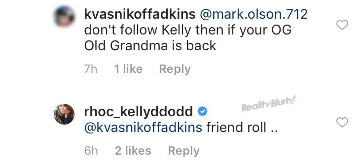 Kelly Dodd says Vicki Gunvalson is a friend on RHOC