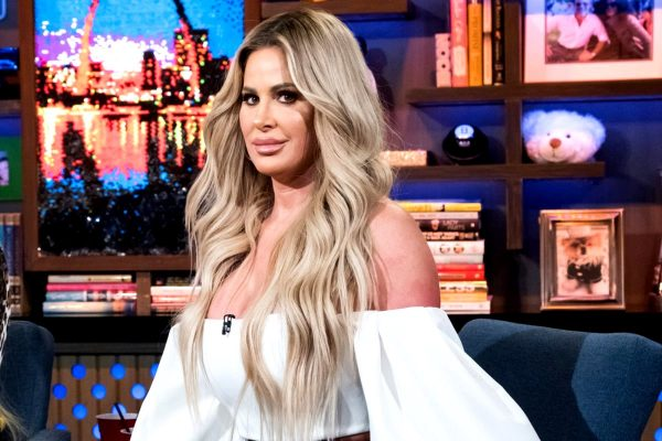 Kim Zolciak Called Out For Photoshop By WWHL Caller