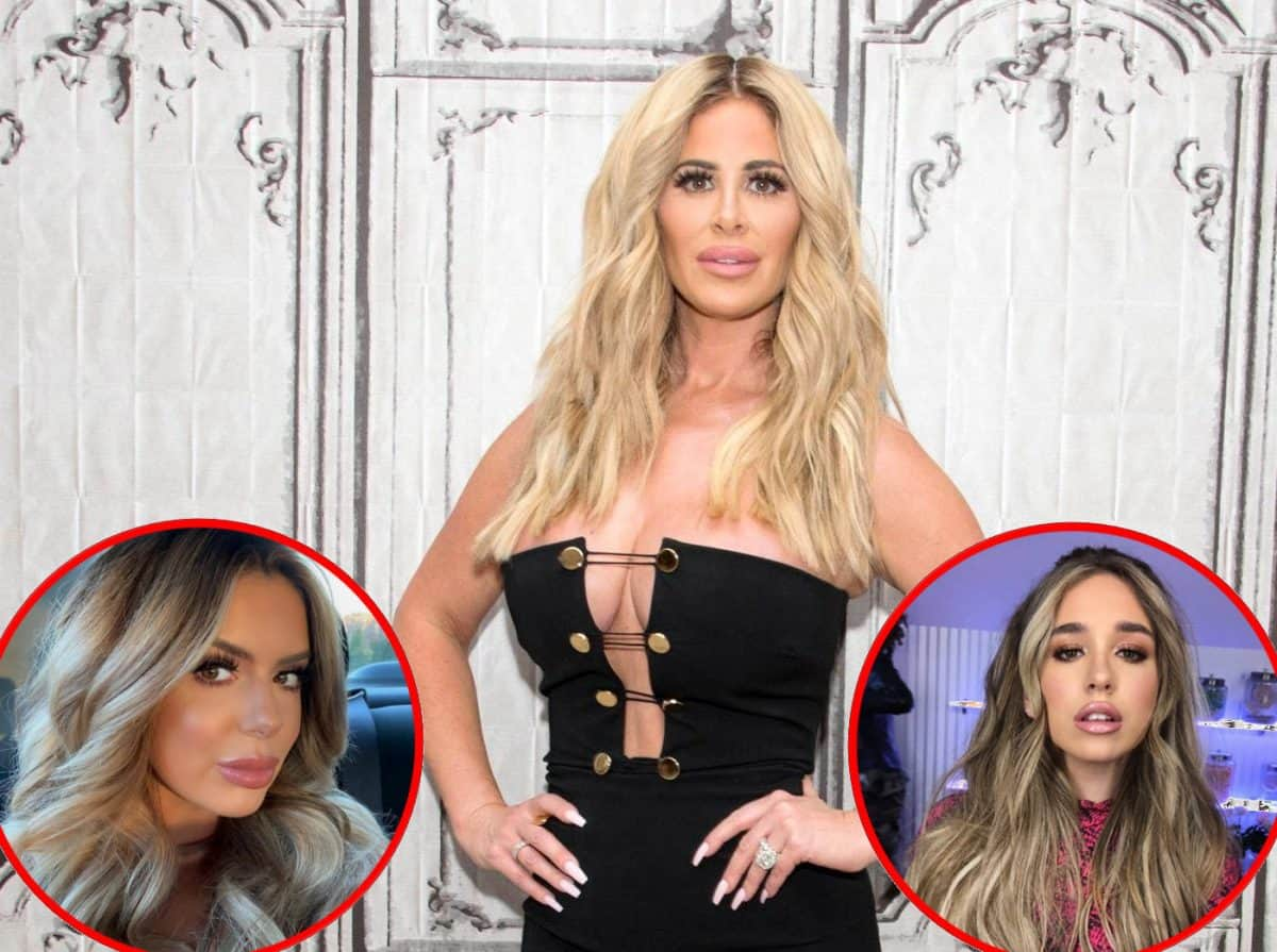 Kim Zolciak Explains Why She Doesn't Want Her Kids Getting Plastic Surgery and Reveals Daughter Ariana Lost 30 Pounds