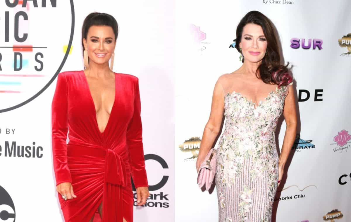 RHOBH's Kyle Richards Shades Lisa Vanderpump For Taking Lie Detector Test and Implies It Can't Be Trusted, Plus Erika Jayne Also Reacts