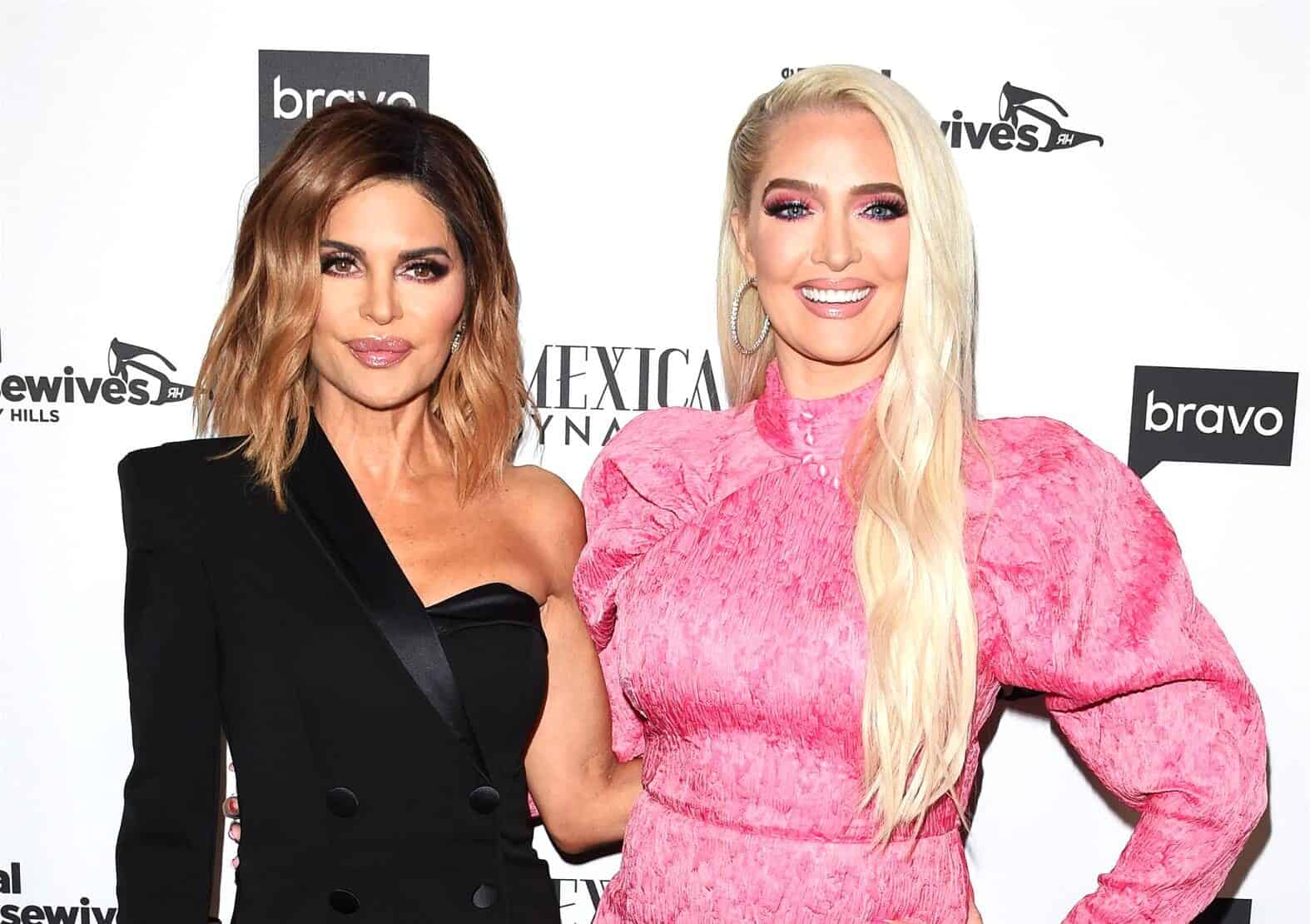 RHOBH's Lisa Rinna and Erika Jayne React to Firing Rumors After Reportedly Removing Show From Instagram Bios, See What They're Saying as Filming Begins