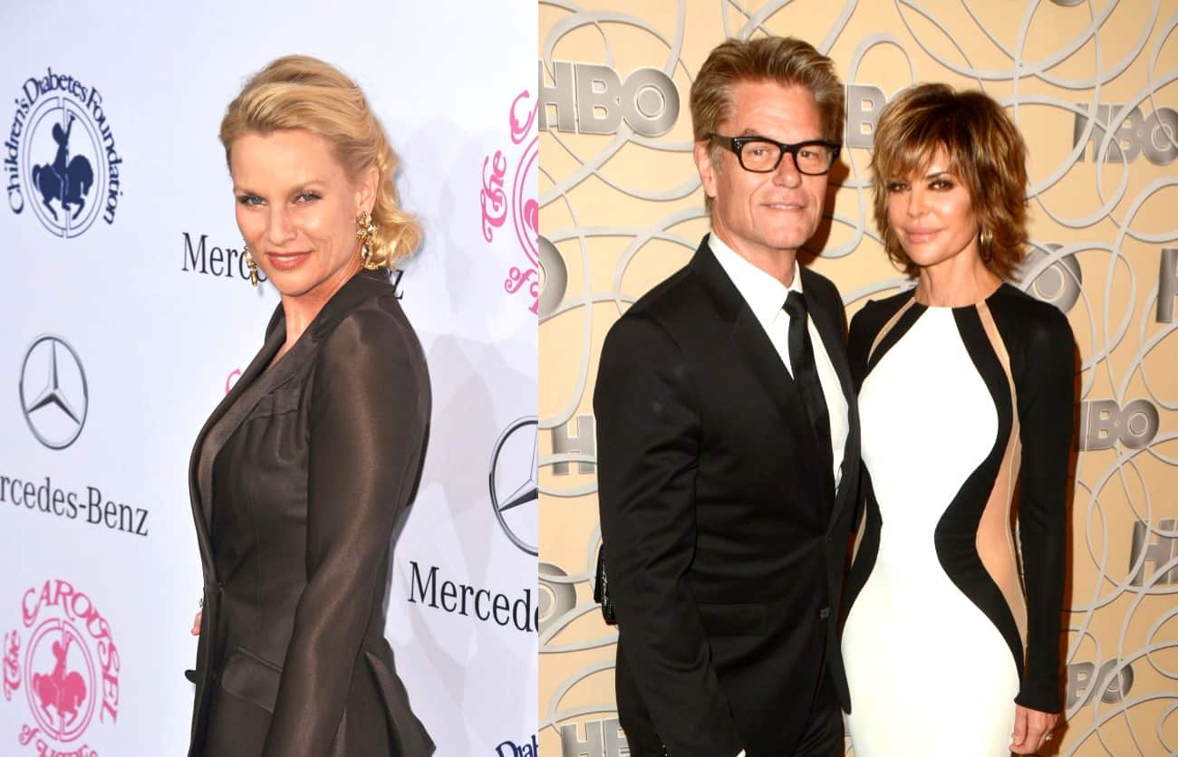 Nicollette Sheridan Fires Back at RHOBH's Lisa Rinna for Saying She Cheated on Harry Hamlin
