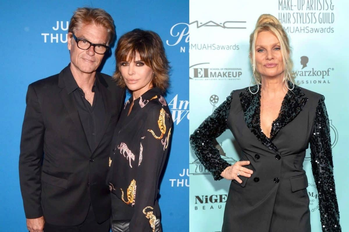 RHOBH's Harry Hamlin Slams Ex-Wife Nicollette Sheridan After She Denies Cheating