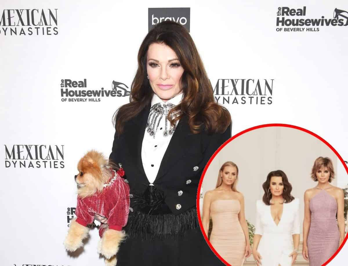 Lisa Vanderpump Open To Reconciling With Her RHOBH Co-Stars
