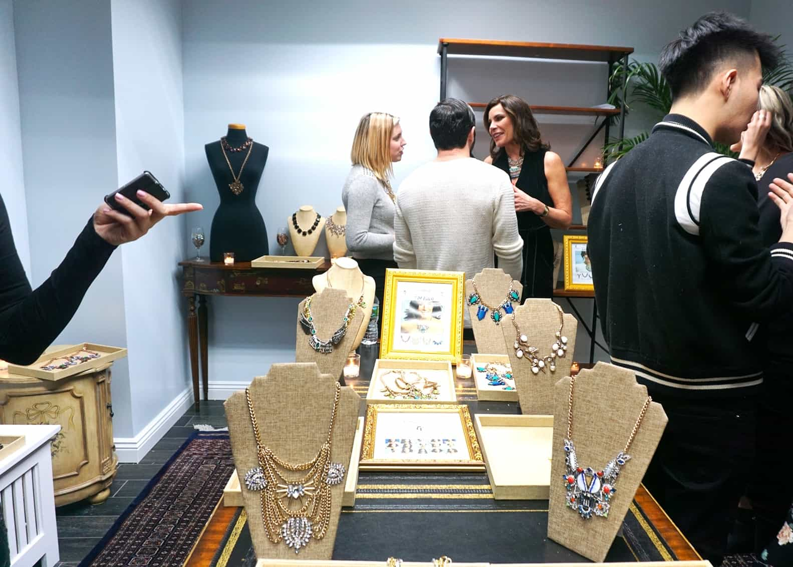 LuAnn de Lesseps Shows Off Her Jewelry Line
