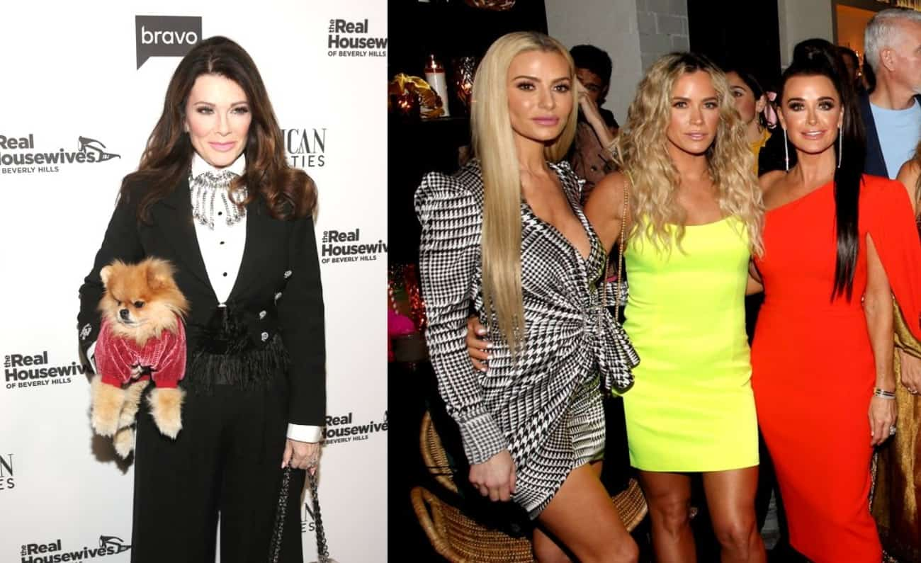 Lisa Vanderpump Left the RHOBH Premiere Party Before the Cast Arrived