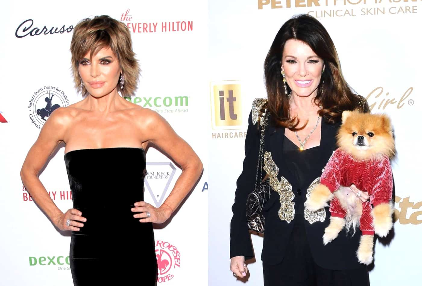 Lisa Rinna Calls Out Lisa Vanderpump for Not Attending RHOBH Events