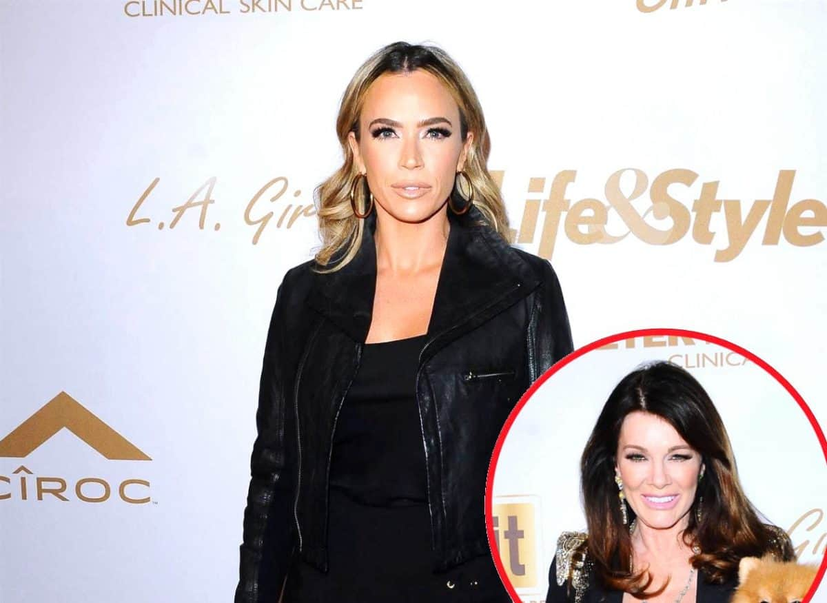 Teddi Mellencamp Questions Lisa Vanderpump's 'Grieving' Time Frame on RHOBH & Reveals If Her Brother Stills Works for Lisa, Plus RHOBH Live Viewing Thread!