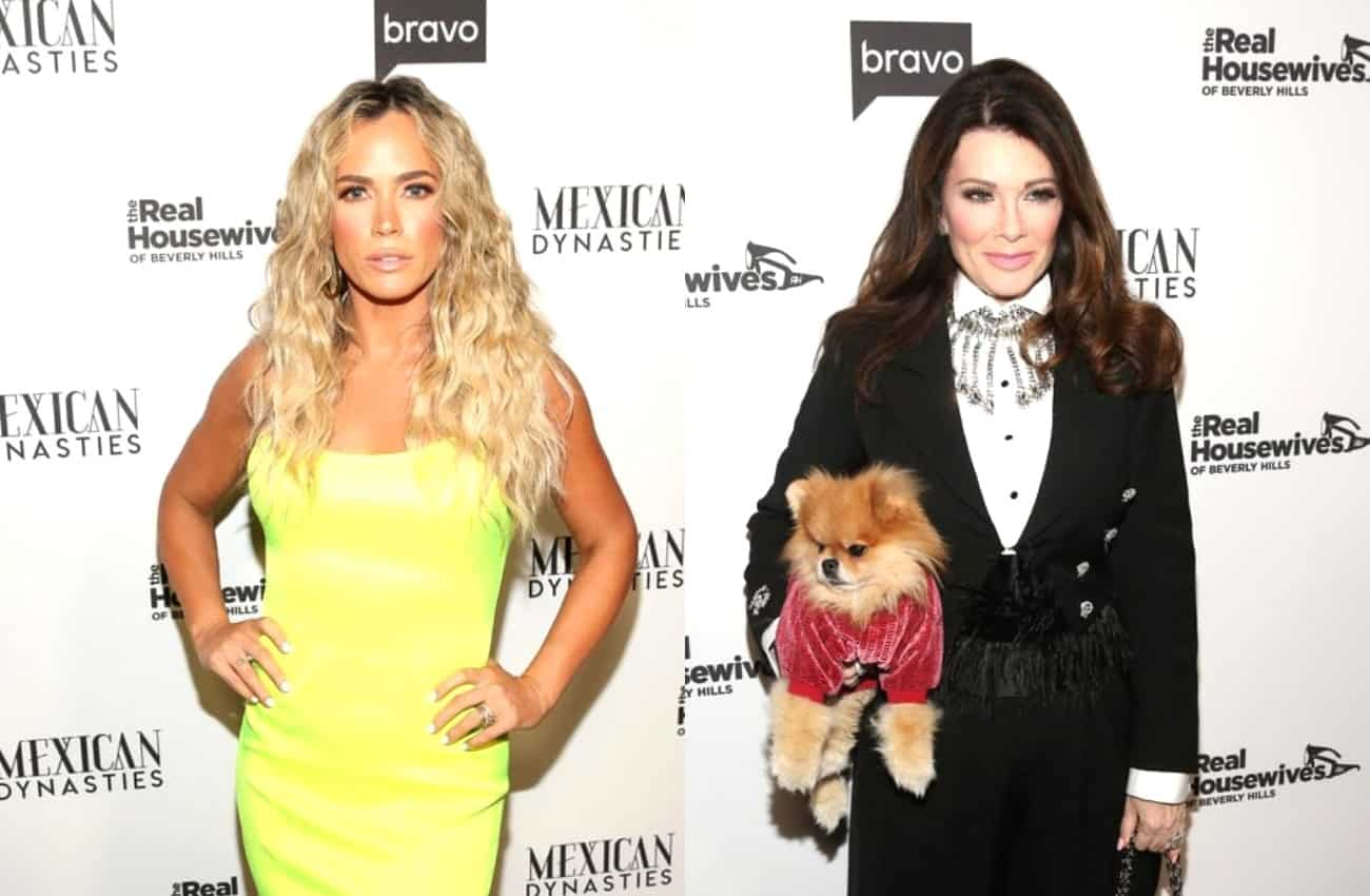 RHOBH's Teddi Mellencamp Suggests Lisa Vanderpump Plotted to Reveal 'Dog' Storyline