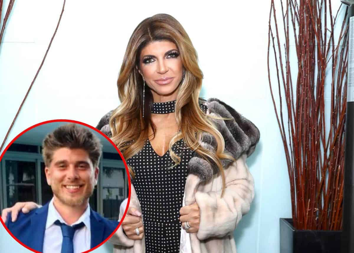 REPORT: Teresa Giudice Refuses to Address Romance Rumors on RHONJ After Putting Alleged Boy Toy Blake Schreck 'Back Burner' Amid Husband Looming Deportation