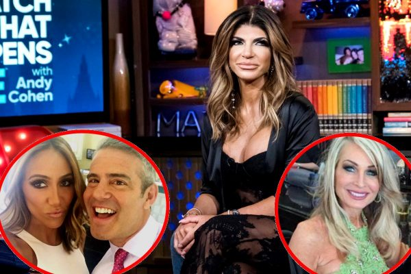 Andy Cohen and Melissa Gorga Speak Out on Photos of Teresa Giudice with Another Man
