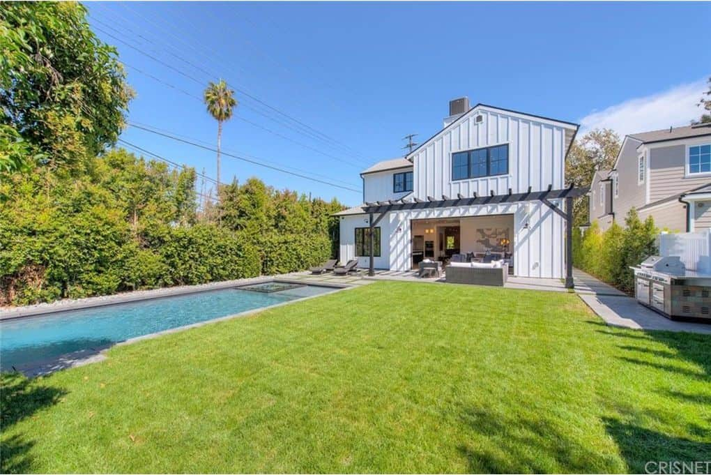 Tom Sandoval and Ariana Madix Home Photos Backyard