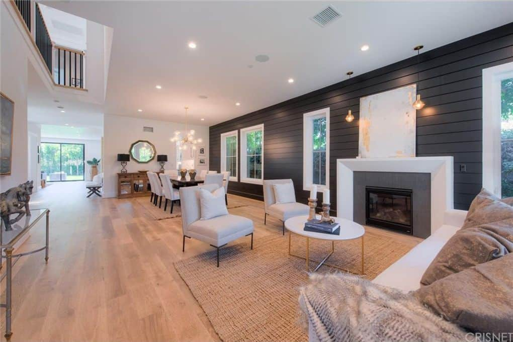 Tom Sandoval and Ariana Madix Home Photos Entrance Living Room