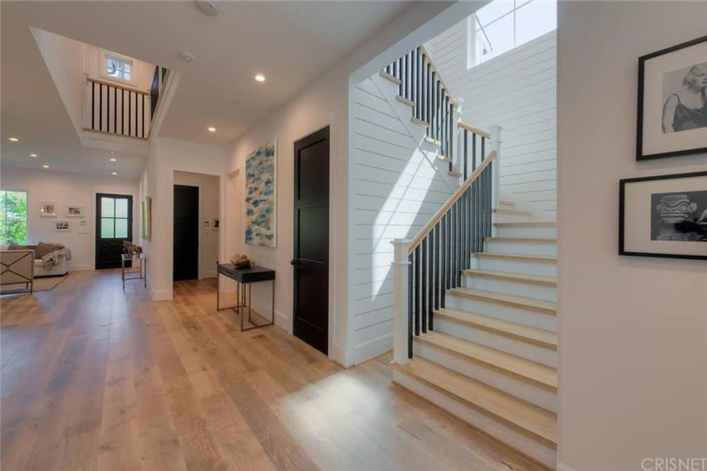 Tom Sandoval and Ariana Madix Home Photos Interior Stairs