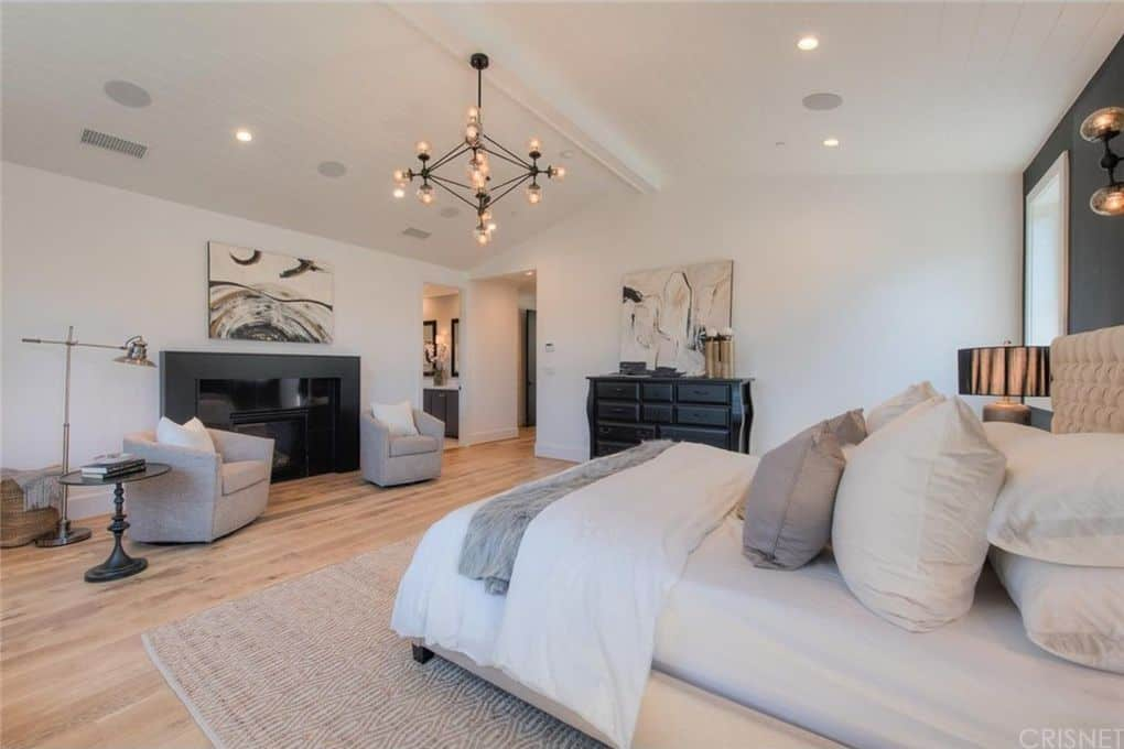 Tom Sandoval and Ariana Madix Home Photos Master Bedroom 2