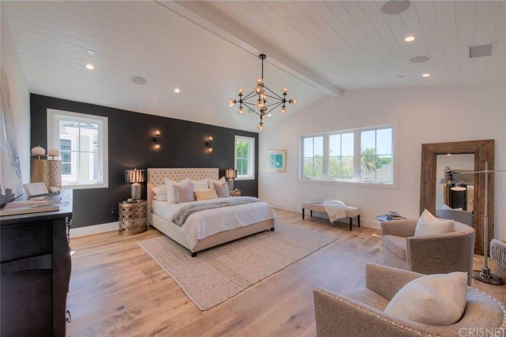 Tom Sandoval and Ariana Madix Home Photos Master Bedroom