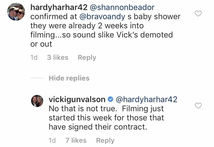 Vicki Gunvalson Confirms RHOC Filming