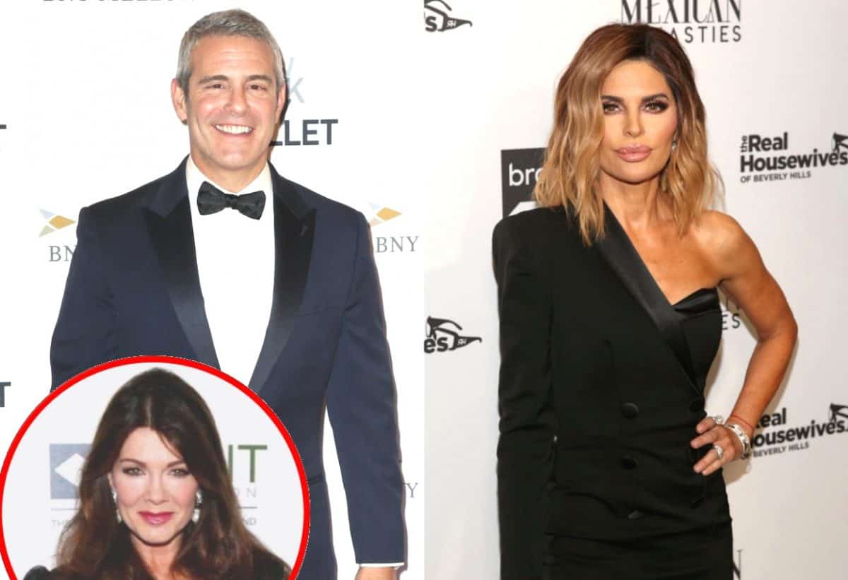 Andy Cohen Is 'Upset' with Lisa Rinna Over Her Legal Threats Against Lisa Vanderpump and Her New Show, Raised 'Huge Red Flag' for Bravo