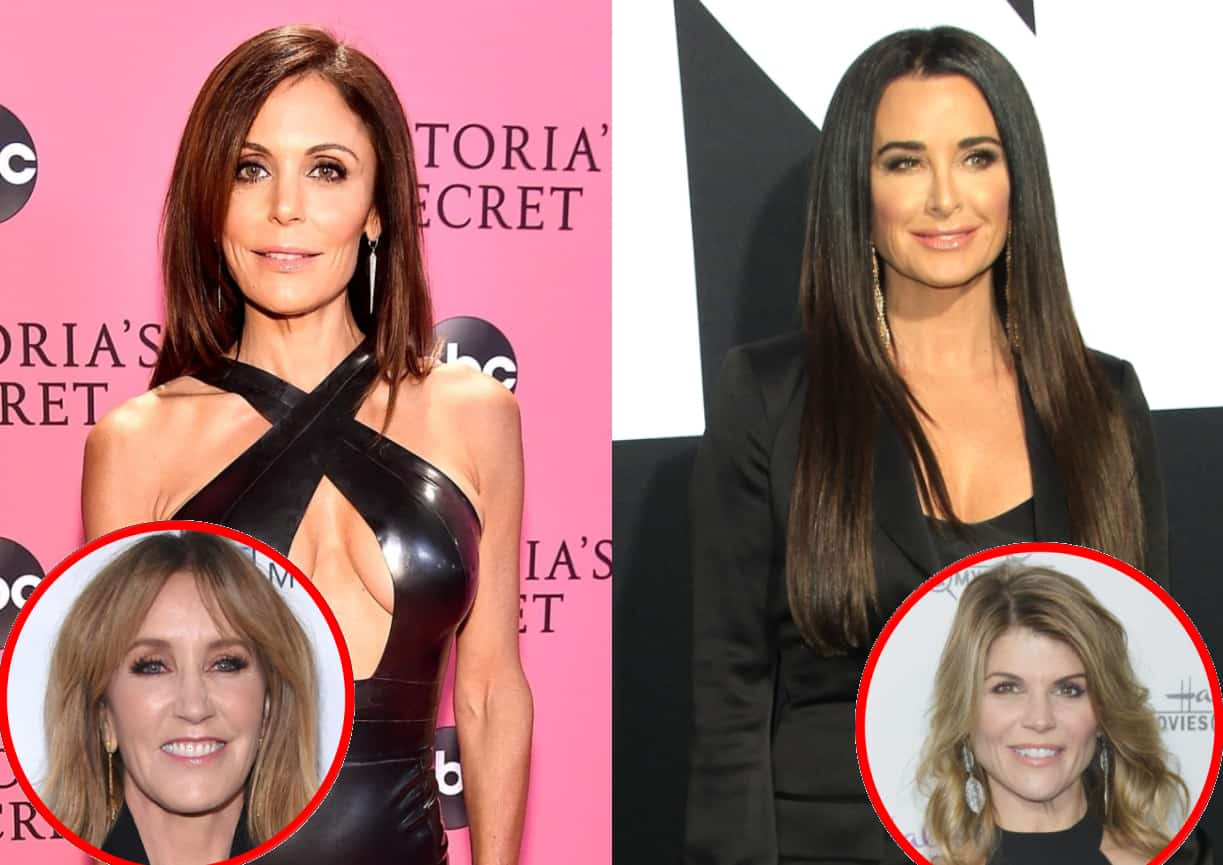 RHONY's Bethenny Frankel Slams Celebs Over College Cheating Scandal! Plus Kyle Richards Fires Back Over Questions About Daughter's College Acceptance