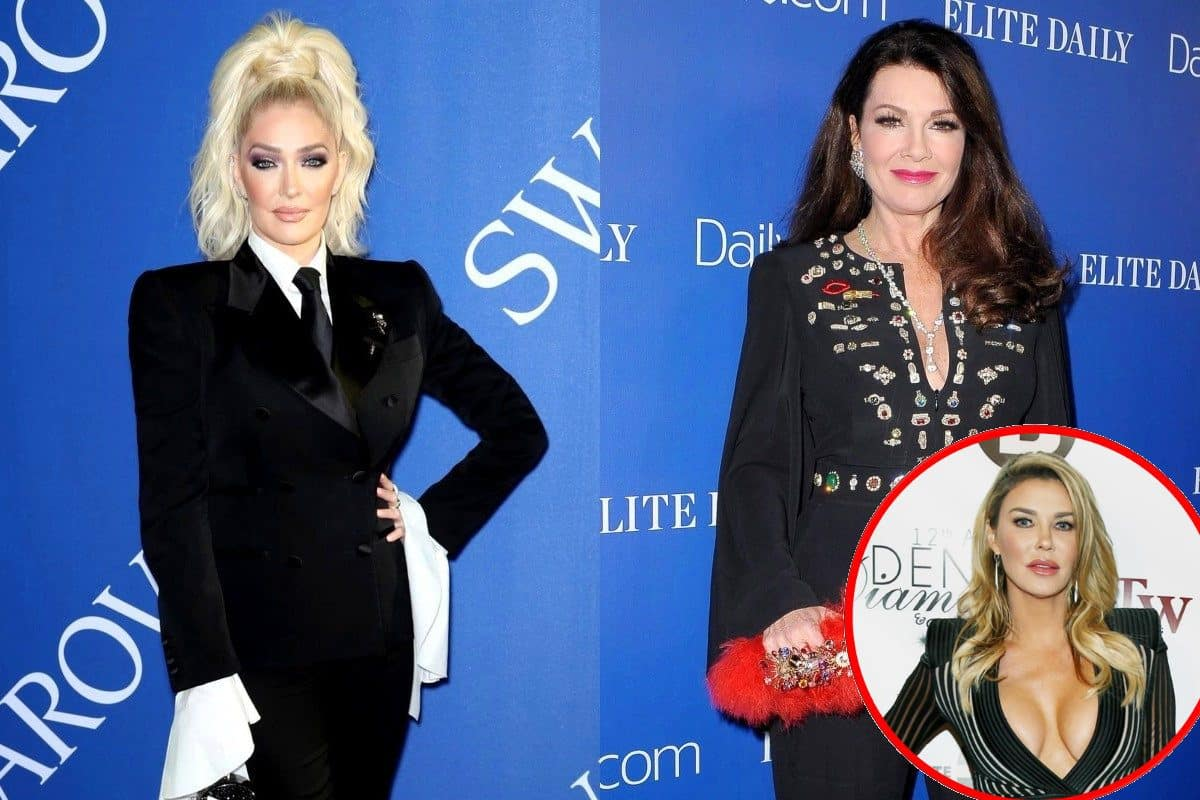 RHOBH's Erika Jayne Defends Taking Photo of Condolence Note to Lisa Vanderpump, Brandi Glanville Chimes In