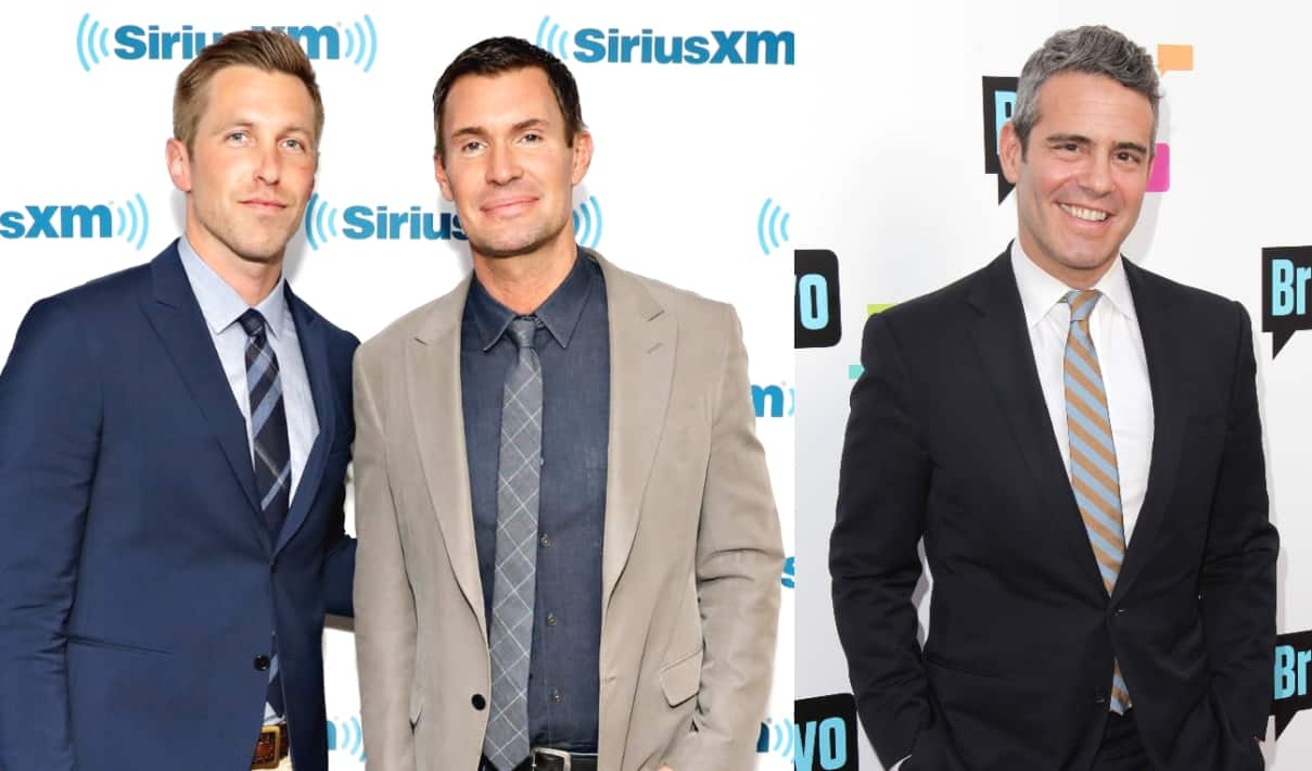 Flipping Out's Jeff Lewis Calls Out Andy Cohen for Joking About Dating His Ex Gage Edward as Andy Accuses Jeff of Snubbing the Birth of His Son