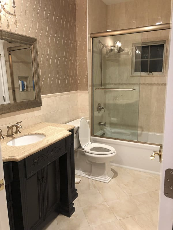 RHONJ Jennifer Aydin Upstairs Guest Bathroom