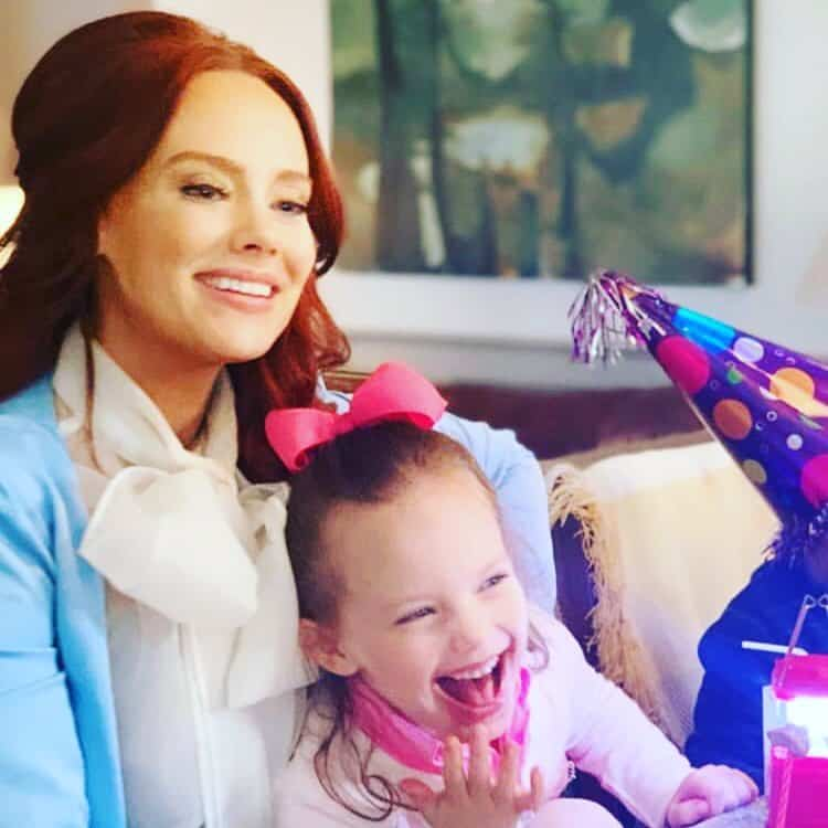 Kathryn Dennis and Kensie