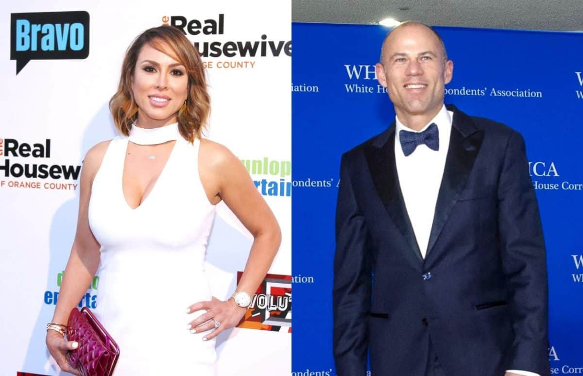 "PHOTO: RHOC's Kelly Dodd Talks Dating Attorney Michael Avenatti! Shares Photo with Him & Says She ""Dodged a Bullet"""