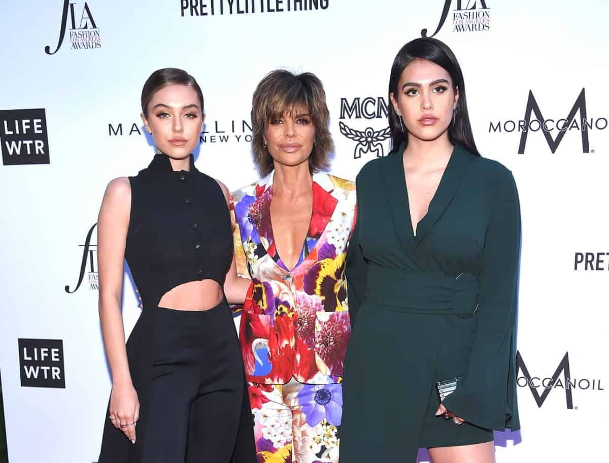 RHOBH Star Lisa Rinna's Model Daughters Delilah and Amelia Hamlin Reality Show