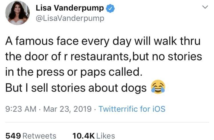 Lisa Vanderpump Throws Shade at RHOBH cast's accusation of selling stories