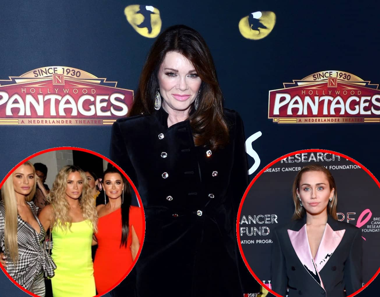 Lisa Vanderpump Throws Shade at RHOBH Cast over Selling Story Accusation! Plus Lisa Hangs Out with Miley Cyrus at TomTom Bar