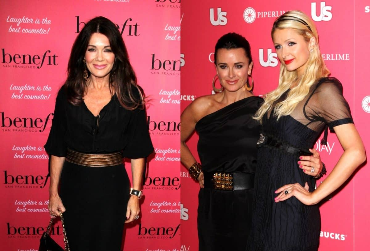 Lisa Vanderpump Opens Up About Plastic Surgery, Plus Is Paris Hilton Interested in Joining the RHOBH?