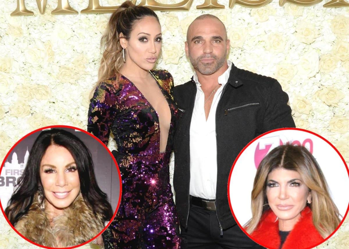 RHONJ Stars Melissa and Joe Gorga Throw Shade at Danielle Staub's Love Life, Plus Melissa Disses Teresa!