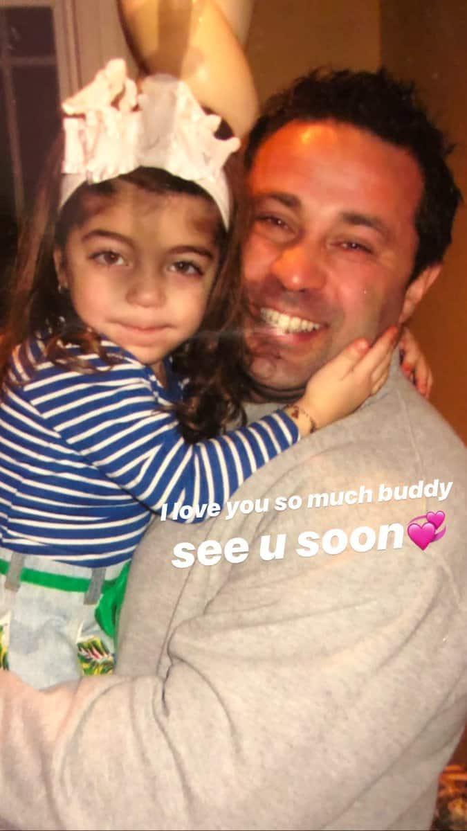 RHONJ Milania Giudice Instagram For Dad Joe