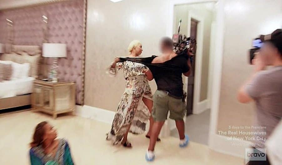 Nene Leakes attacks cameraman